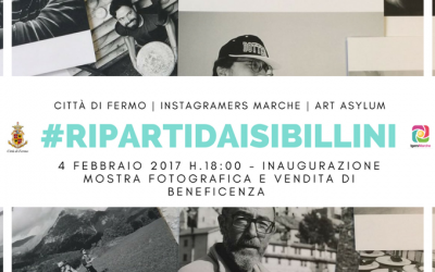 #RipartidaiSibillini diventa una mostra fotografica di beneficenza